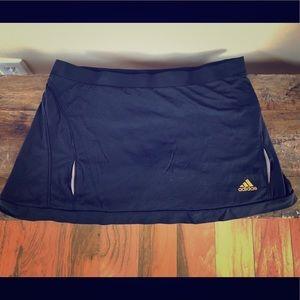 Adidas Black Lightweight Stretch Golf Skort Size M